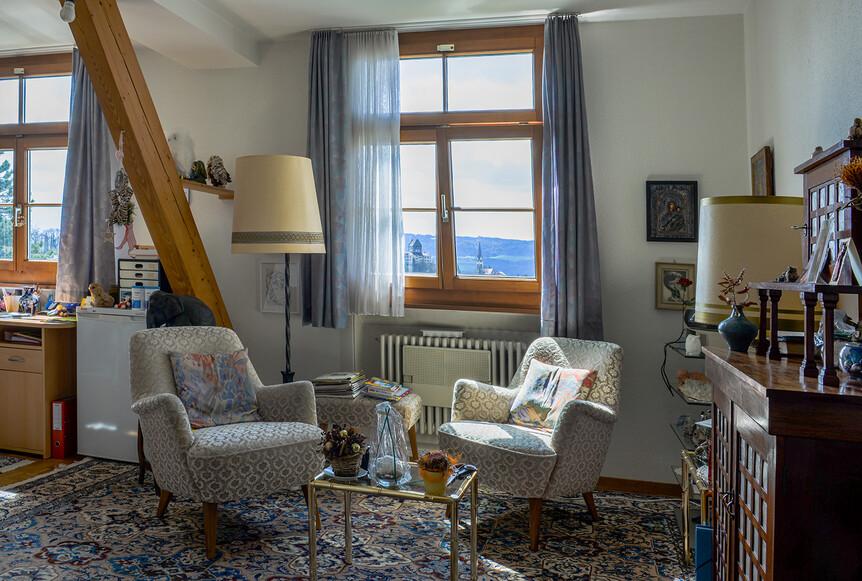 Zimmer im Altersheim