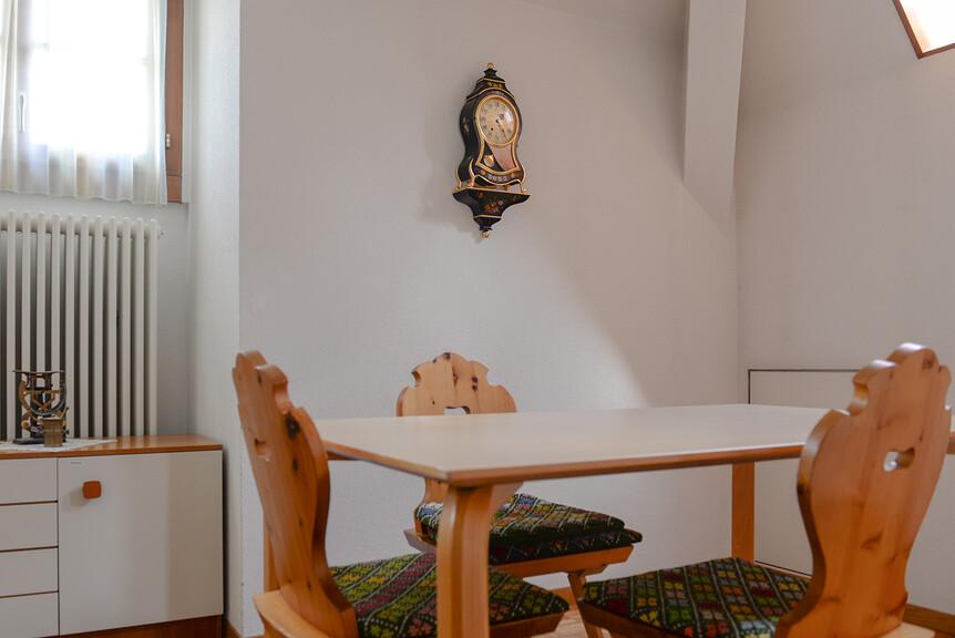 kleine Küche, Sitzecke